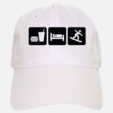 Eat Sleep Snowboard Baseball Baseball Cap