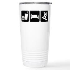Eat Sleep Snowboard Travel Mug