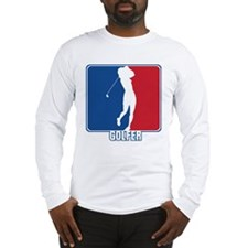Major League Womens Golf Long Sleeve T-Shirt