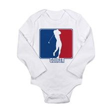 Major League Womens Golf Long Sleeve Infant Bodysu