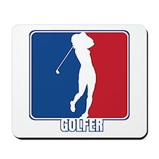 Major League Womens Golf Mousepad