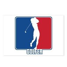 Major League Womens Golf Postcards (Package of 8)