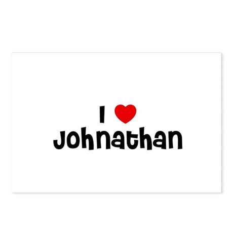 I * Johnathan Postcards (Package of 8)