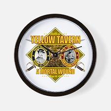 Yellow Tavern Wall Clock
