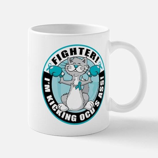 OCD Fighter Cat Mug