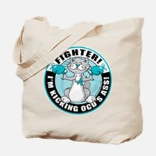 OCD Fighter Cat Tote Bag