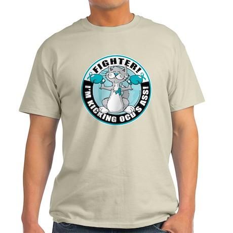 OCD Fighter Cat Light T-Shirt