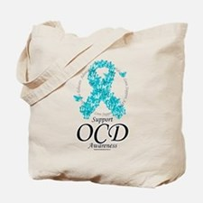 OCD Ribbon of Butterflies Tote Bag