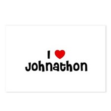 I * Johnathon Postcards (Package of 8)