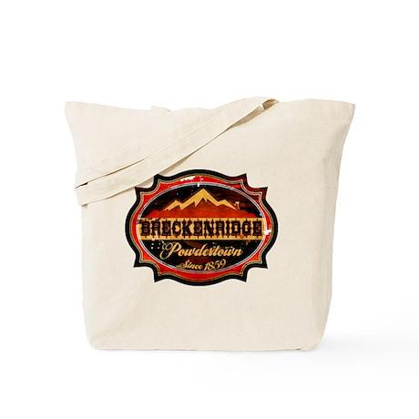 Breckenridge Powdertown Tote Bag