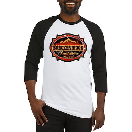 Breckenridge Powdertown Baseball Jersey