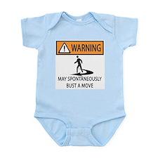 Spontaneous Dancer Infant Bodysuit