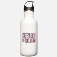 Maryland Breast Cancer Fighter Water Bottle