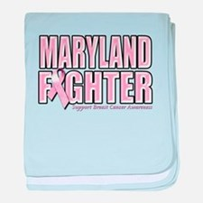 Maryland Breast Cancer Fighter baby blanket