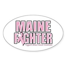 Maine Breast Cancer Fighter Decal