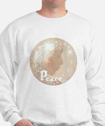 Peace (Snow Angel) Sweatshirt