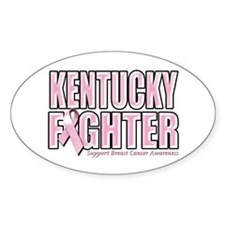 Kentucky Breast Cancer Fighter Decal