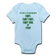 Elf Food Groups Infant Bodysuit