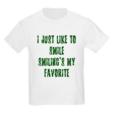 I Just Like To Smile T-Shirt