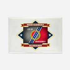 Montgomery Flag Rectangle Magnet