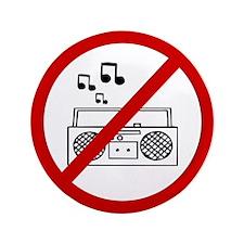 "Anti Radio 3.5"" Button (100 pack)"