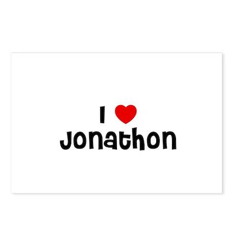 I * Jonathon Postcards (Package of 8)