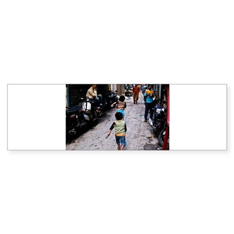 Delhi children run Sticker (Bumper 10 pk)