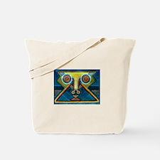 Dance Mask Tote Bag