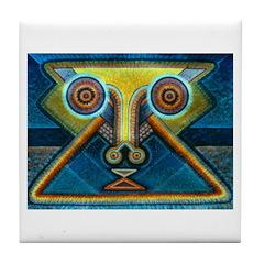 Dance Mask Tile Coaster