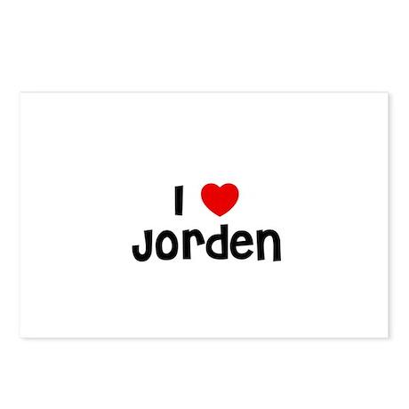 I * Jorden Postcards (Package of 8)