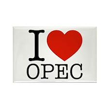 I Love OPEC Rectangle Magnet