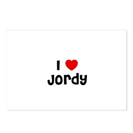 I * Jordy Postcards (Package of 8)