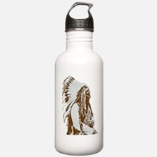 native american Water Bottle