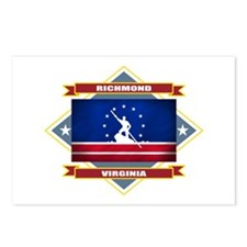 Richmond Flag Postcards (Package of 8)
