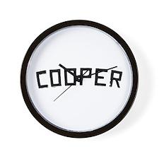 Cooper Vintage Wall Clock