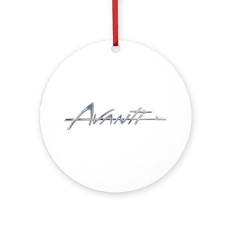 Avanti Ornament (Round)