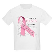 I Wear Pink for my Sister In Law T-Shirt