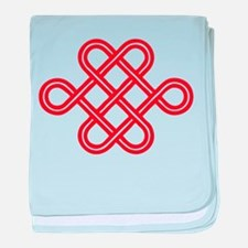 endless love knot baby blanket