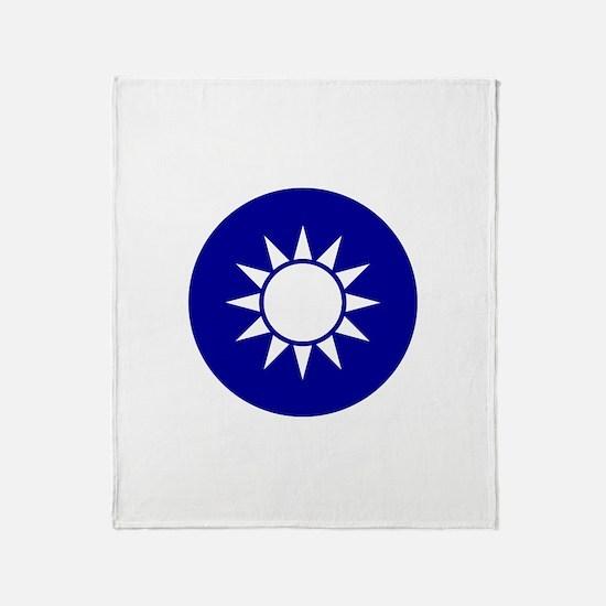 Republic of China Throw Blanket