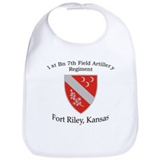 1st Bn 7th Field Artillery Bib