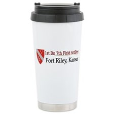 1st Bn 7th Field Artillery Travel Mug