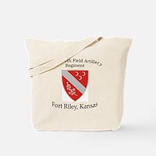 1st Bn 7th Field Artillery Tote Bag