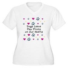 Dogs Leave Paw Prints T-Shirt