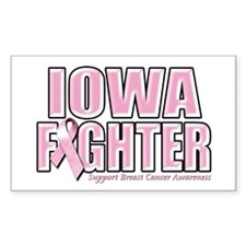 Iowa Breast Cancer Fighter Decal