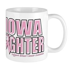 Iowa Breast Cancer Fighter Mug