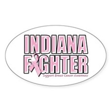 Indiana Breast Cancer Fighter Decal