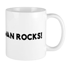Saskatchewan Rocks! Small Mug