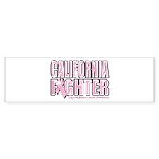 California Breast Cancer Fighter Bumper Sticker