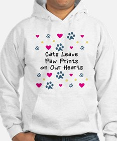 Cats Leave Paw Prints Hoodie