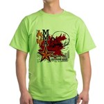 Blood in, Blood out MMA Green T-Shirt